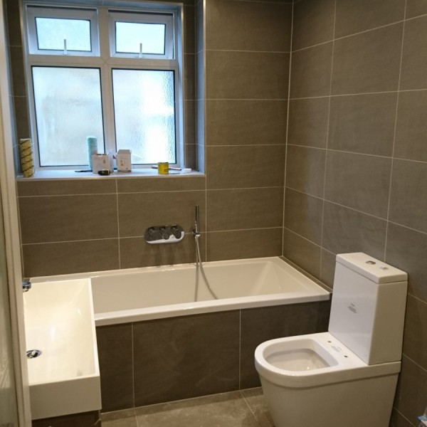 Bathroom refurbishment - Kingston