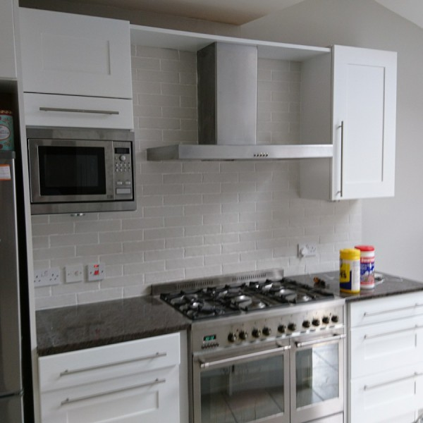 Kitchen units painting & decorating - Surbiton