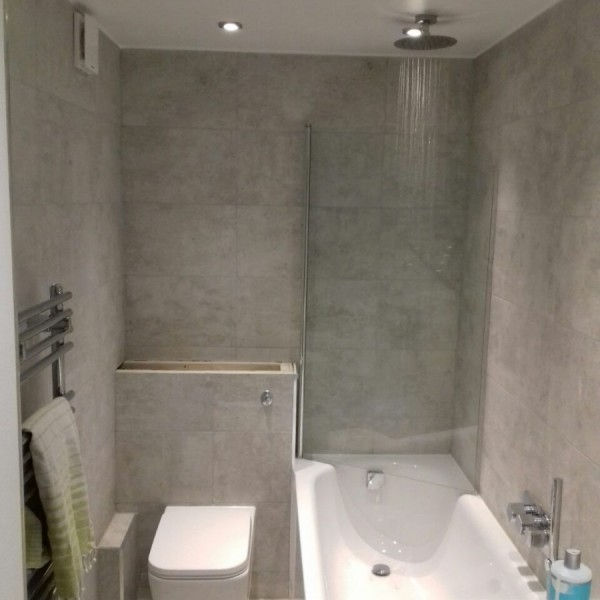 Bathroom refurbishment - Sutton